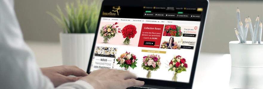 commander des fleurs en ligne