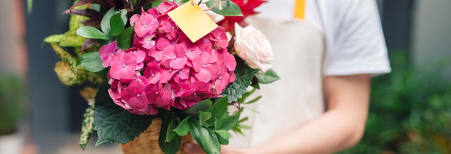 Livraison d'orchidée fleuries