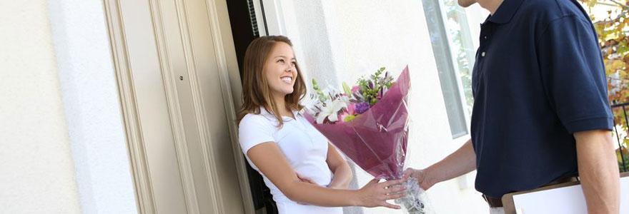 Livrer des bouquets de fleurs