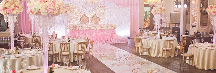 Décorer correctement une salle de mariage
